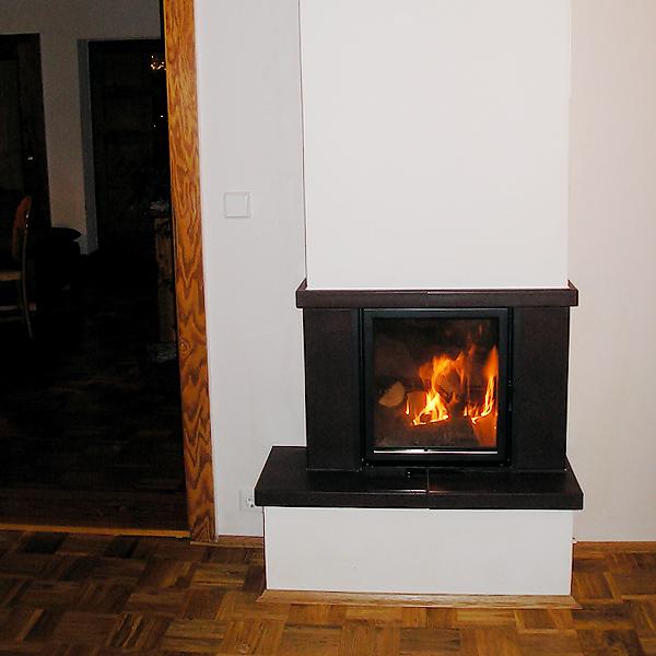 kaminofen auf kleinsten raum. Black Bedroom Furniture Sets. Home Design Ideas