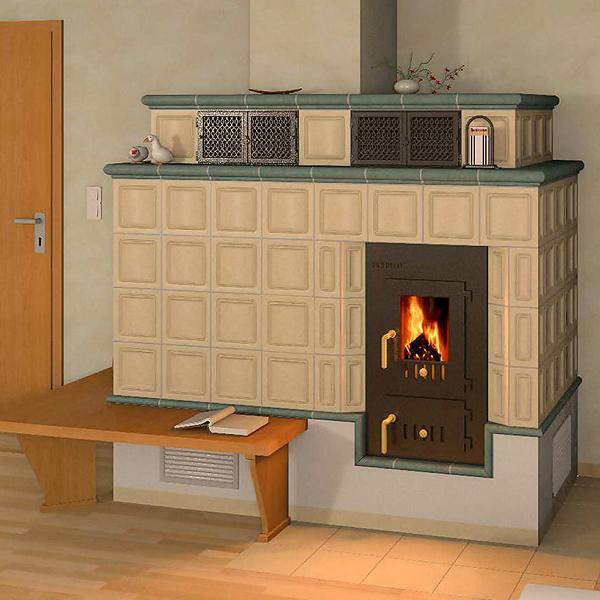 kachelofen luftheizung. Black Bedroom Furniture Sets. Home Design Ideas